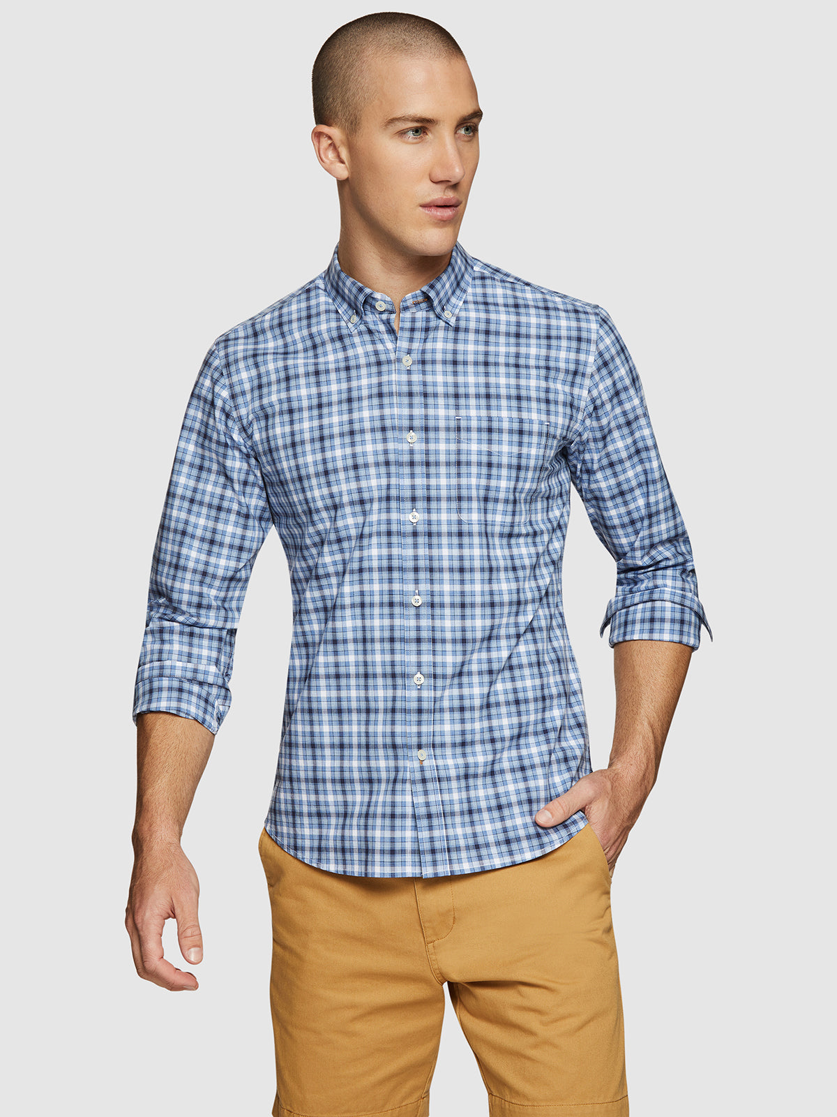 STRATTON CHECKED SHIRT