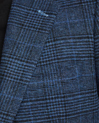 BLAKE WOOL BLEND CHECKED BLAZER