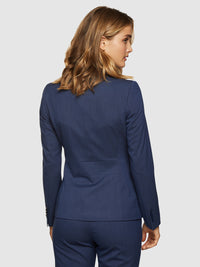 ALEXA ECO SUIT JACKET NAVY