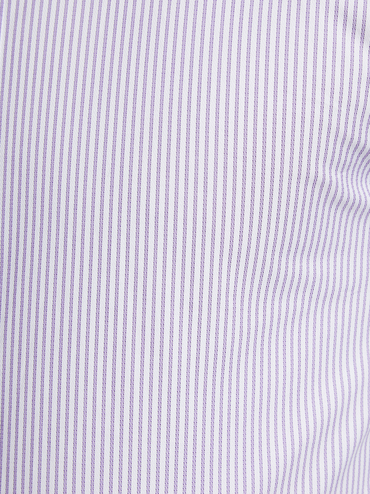 BECKTON DOBBY STRIPED SHIRT PURPLE