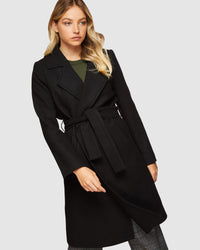 FALLON COAT GREEN