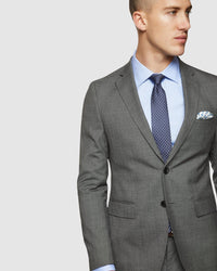 AUDEN WOOL STRETCH SUIT JACKET