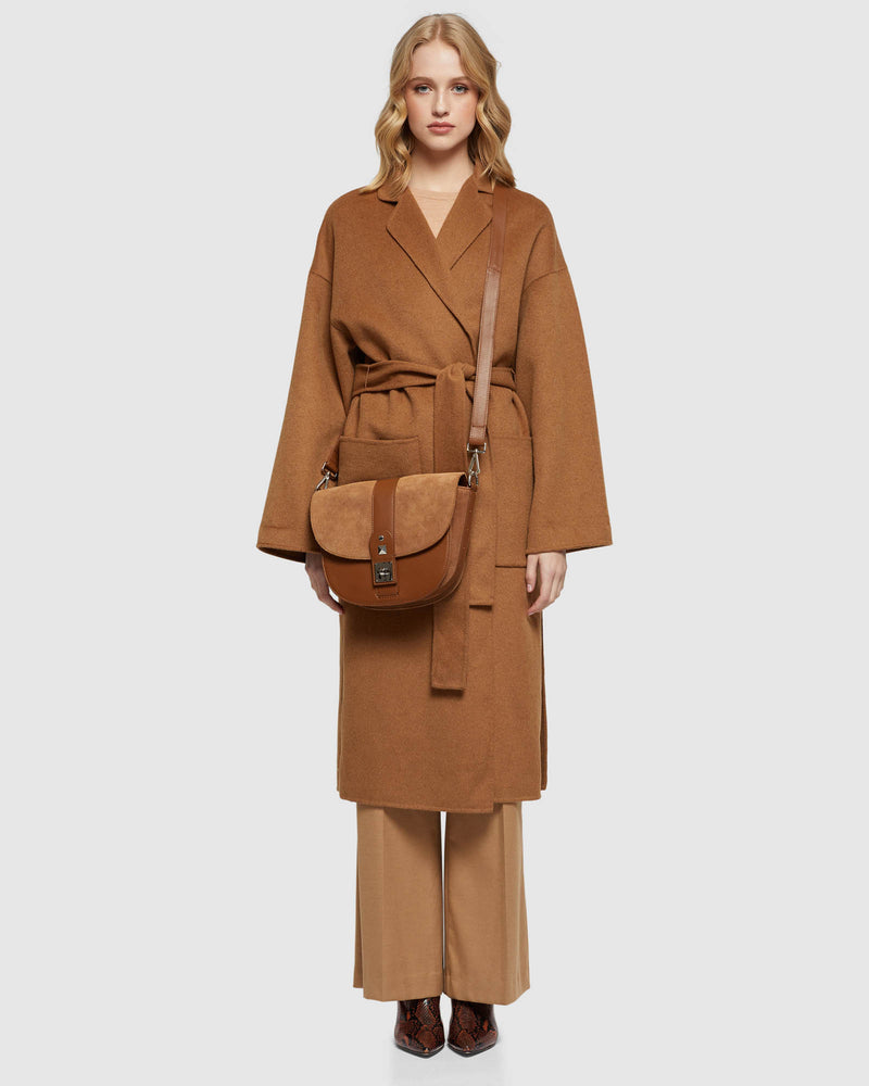 ASHLEY OVERSIZE COAT CAMEL