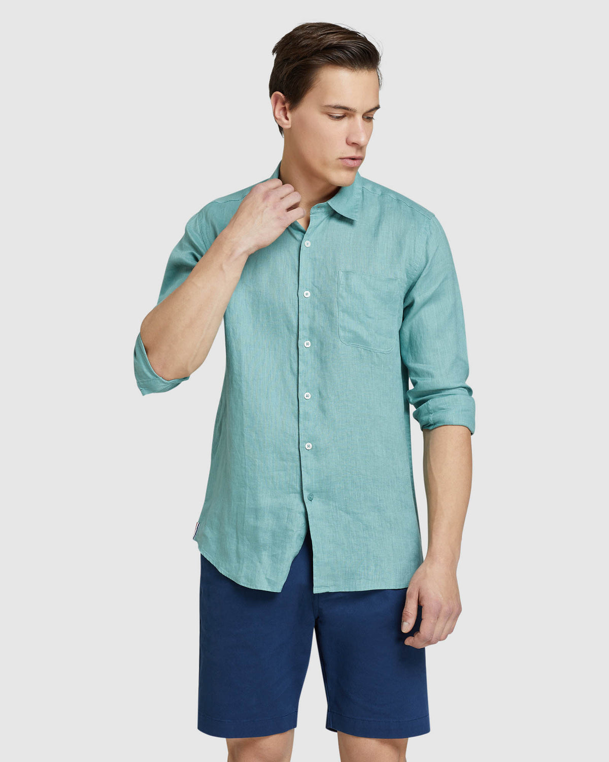 HOLLOWAY PURE LINEN SHIRT