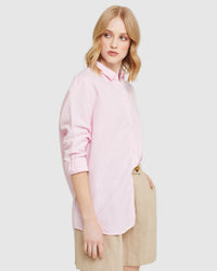 EVA LINEN COTTON SHIRT