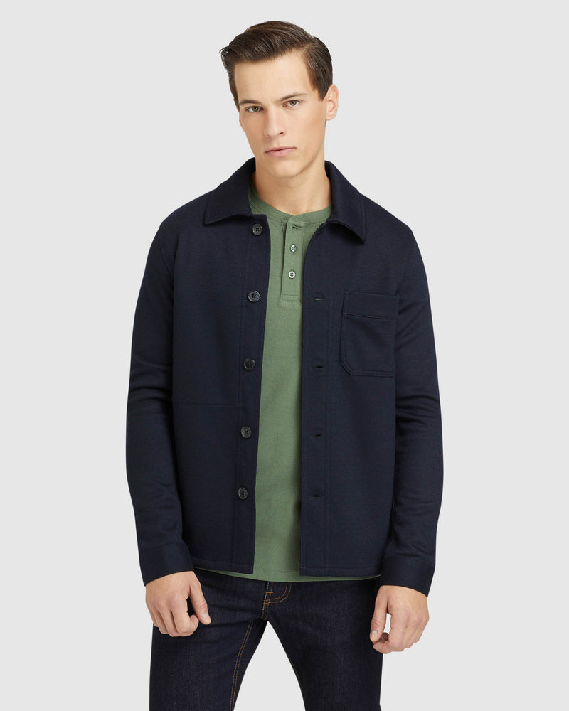 GEORGE KNITTED OVERSHIRT