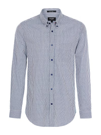 UXBRIDGE MINI CHECK SHIRT AQUA