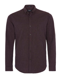 STRATTON BUTTON DOWN SHIRT WINE