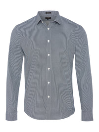 KENTON PRINT SHIRT BLUE
