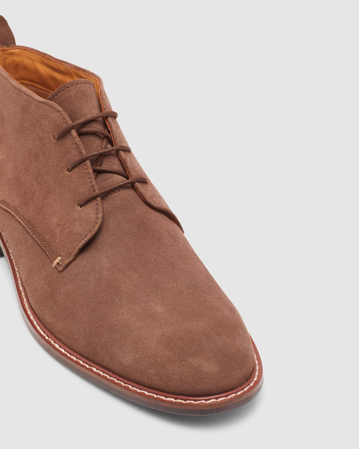 KAIDAN SUEDE LEATHER BOOT BROWN