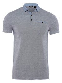 ALFIE POLO SHIRT NAVY