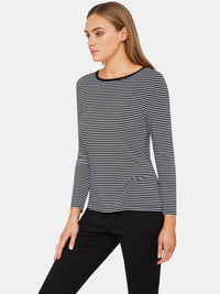AMALIE STRIPED T-SHIRT