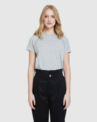 EMILIA METALLIC TRIM T-SHIRT