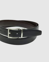 HARRISON REVERSIBLE BELT BLK/BRWN