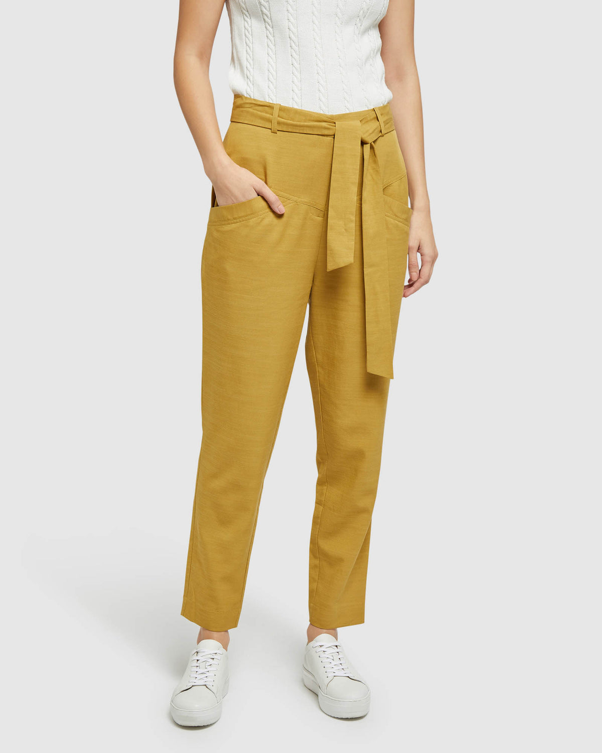 NEW SLOANE PANTS MUSTARD