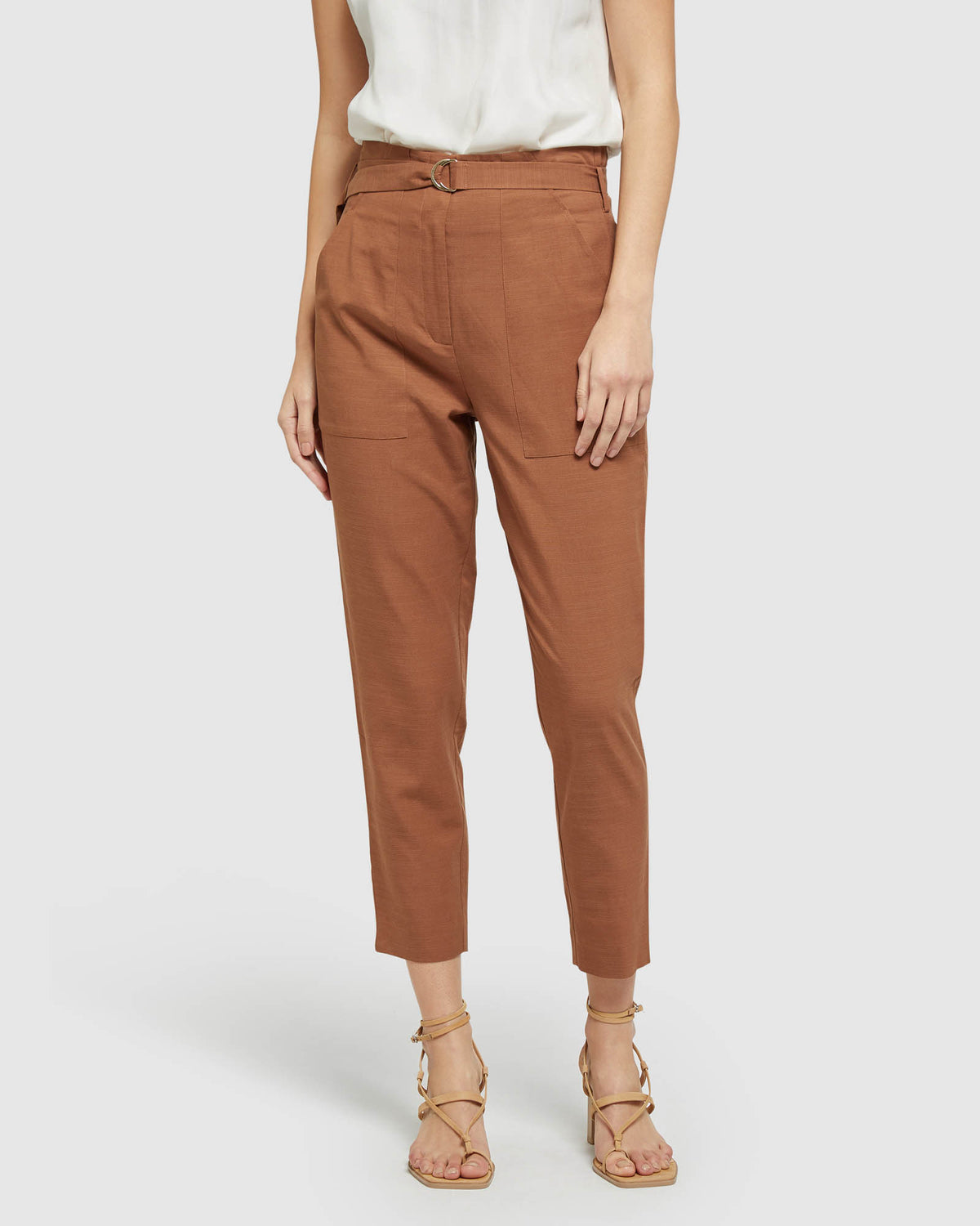 BELLA PAPERBAG PANTS SPICE