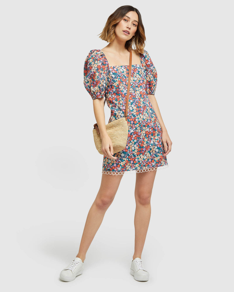 MARGELA DITSY FLORAL DRESS MULTI