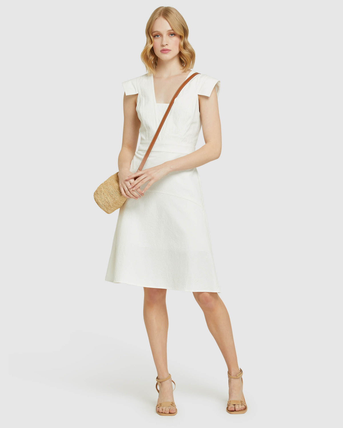 STANMORE COTTON DRESS IVORY