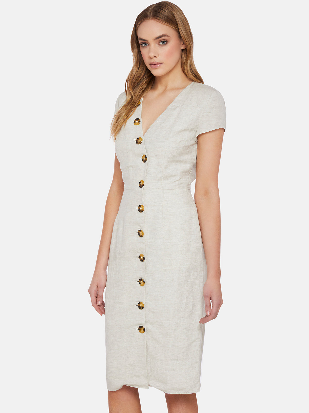 BECCY BUTTON UP DRESS