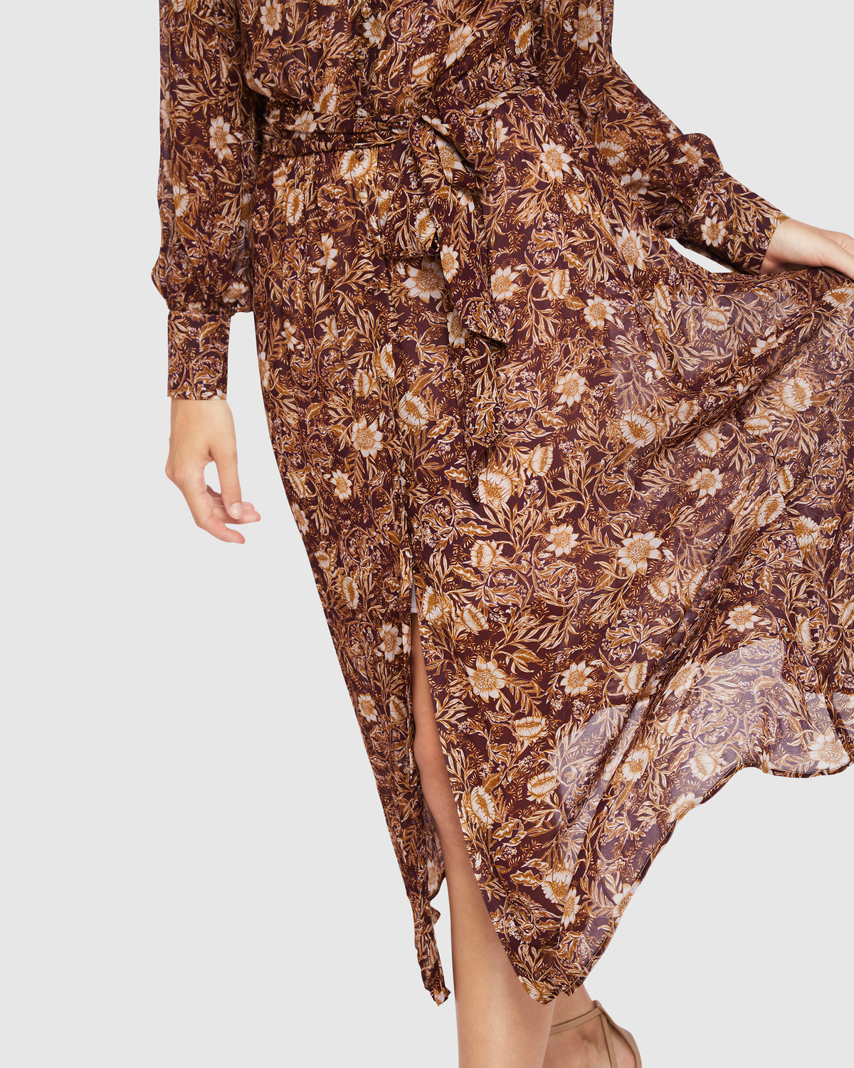 ANGELICA MAXI DRESS SPICE