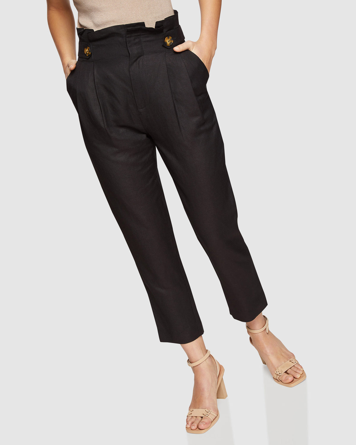 EVIE PAPERBAG TROUSERS