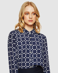 POPPY CIRCE PRINTED BLOUSE