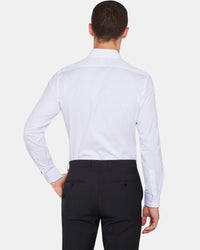 KENSINGTON LUXURY DOBBY SHIRT WHITE