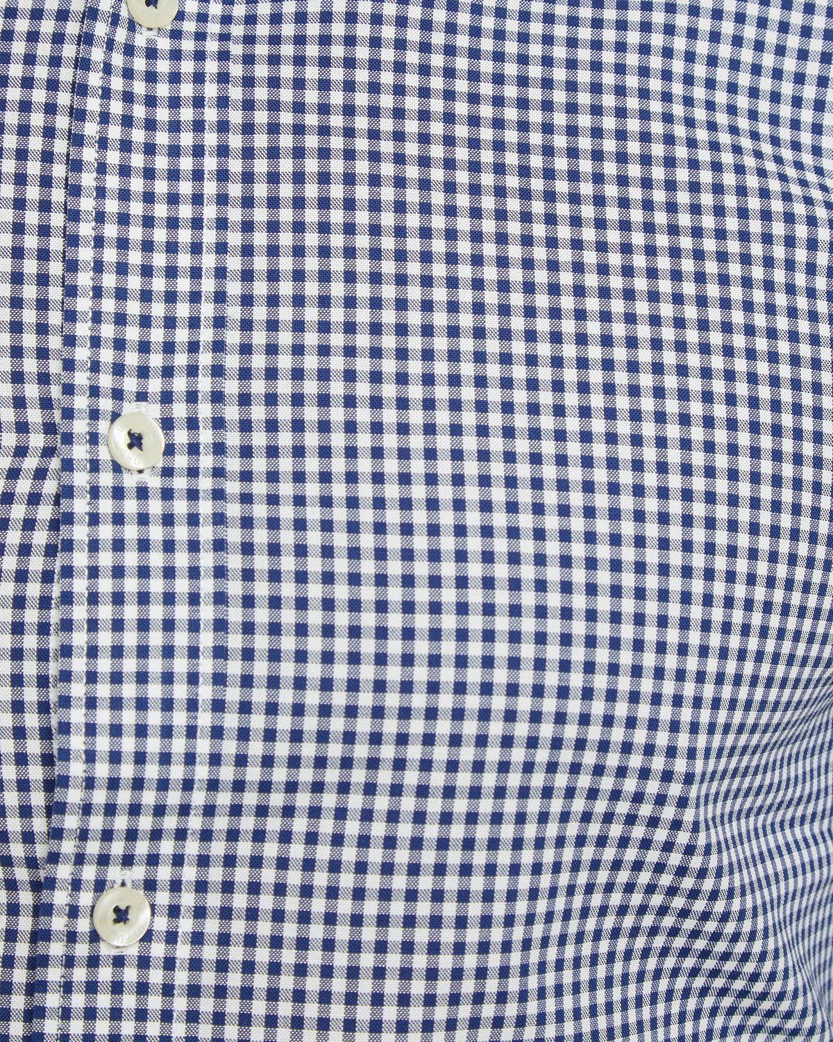BECKTON CHECKED SHIRT NAVY