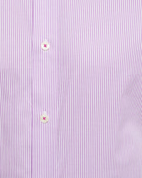 ISLINGTON FRENCH CUFF DOBBY REGULAR SHIRT PURPLE