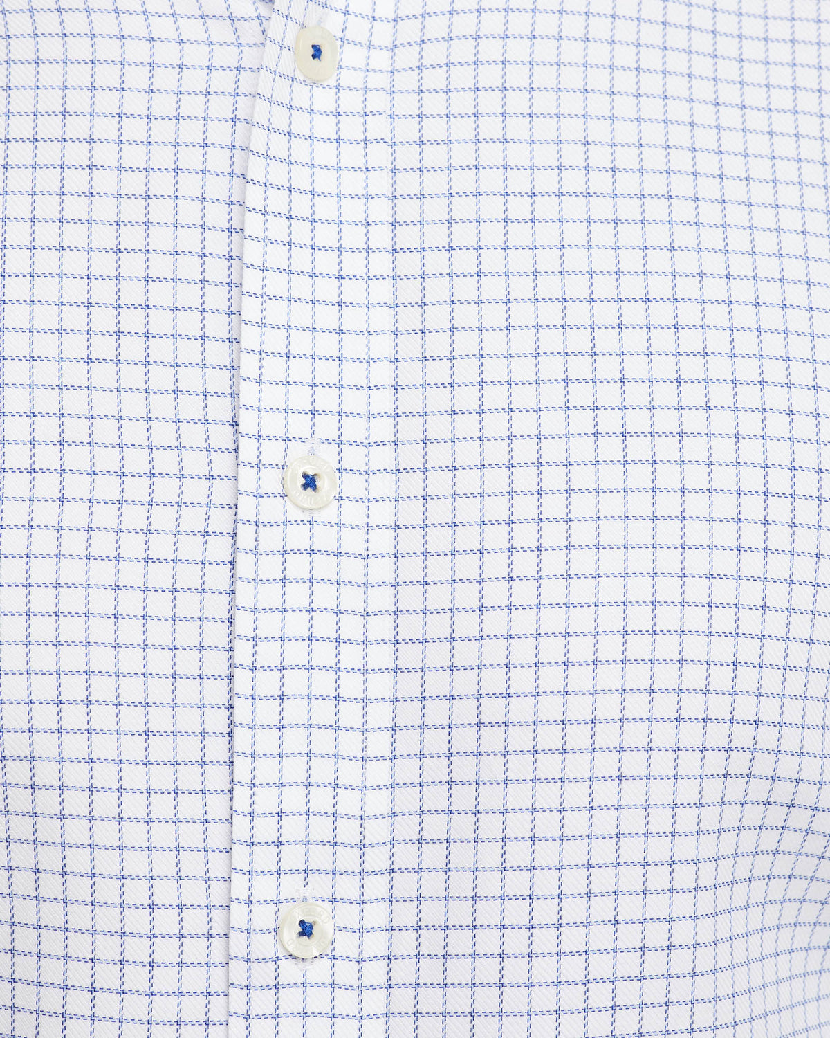 BECKTON F/C CHECKED SHIRT WHITE/NAVY