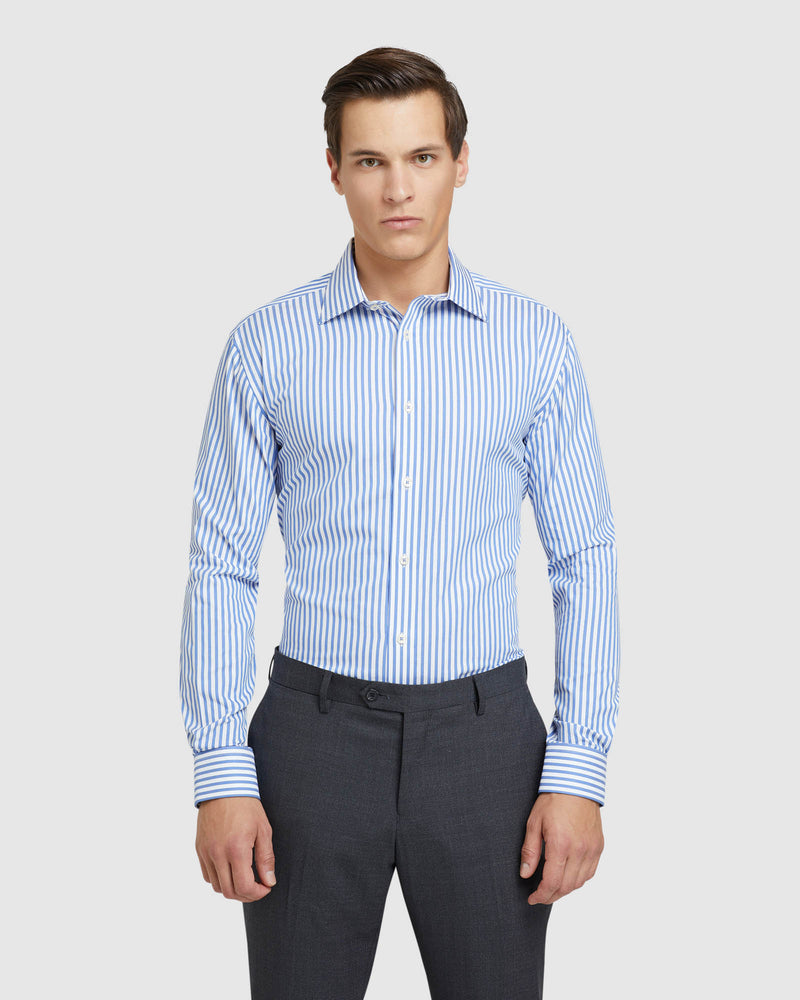 ISLINGTON STRIPED REGULAR FIT SHIRT BLUE/WHITE