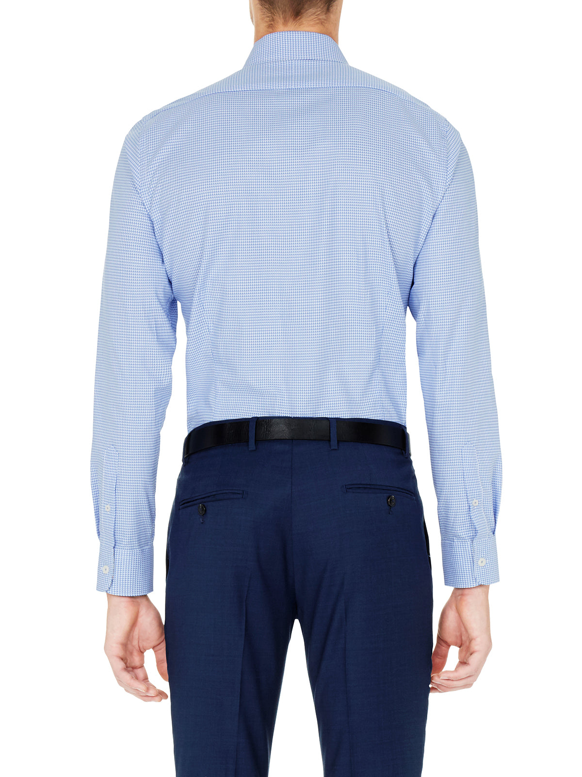 BECKTON SLIM FIT SHIRT NAVY