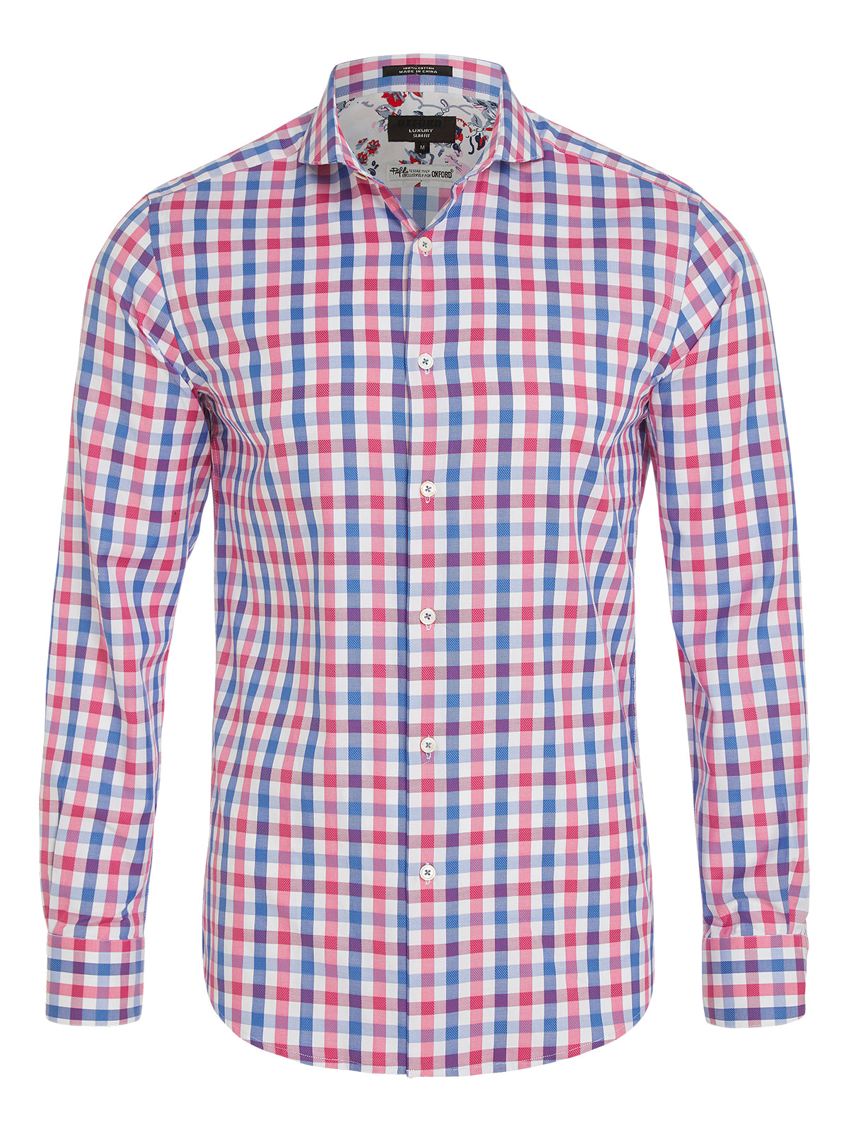 KENSINGTON LUXURY SHIRT PINK/BLUE