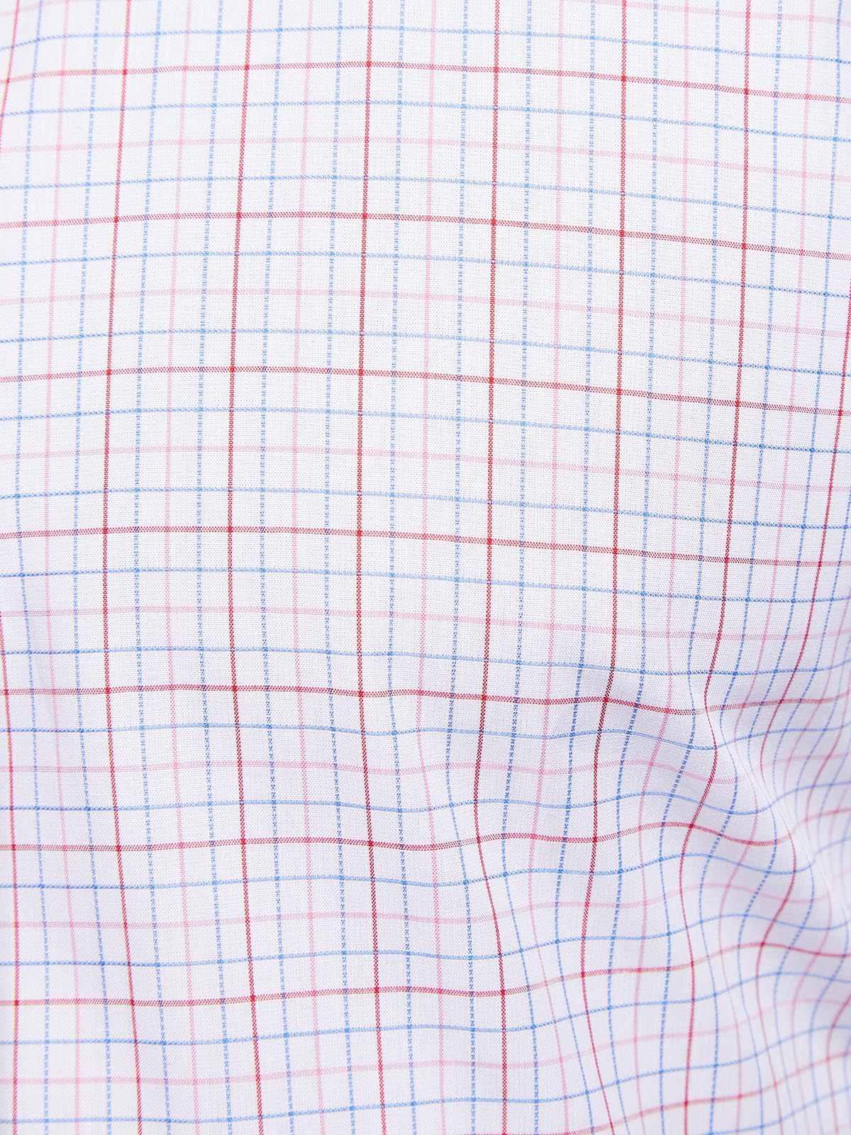 ISLINGTON CHECKED SHIRT RED/BLUE