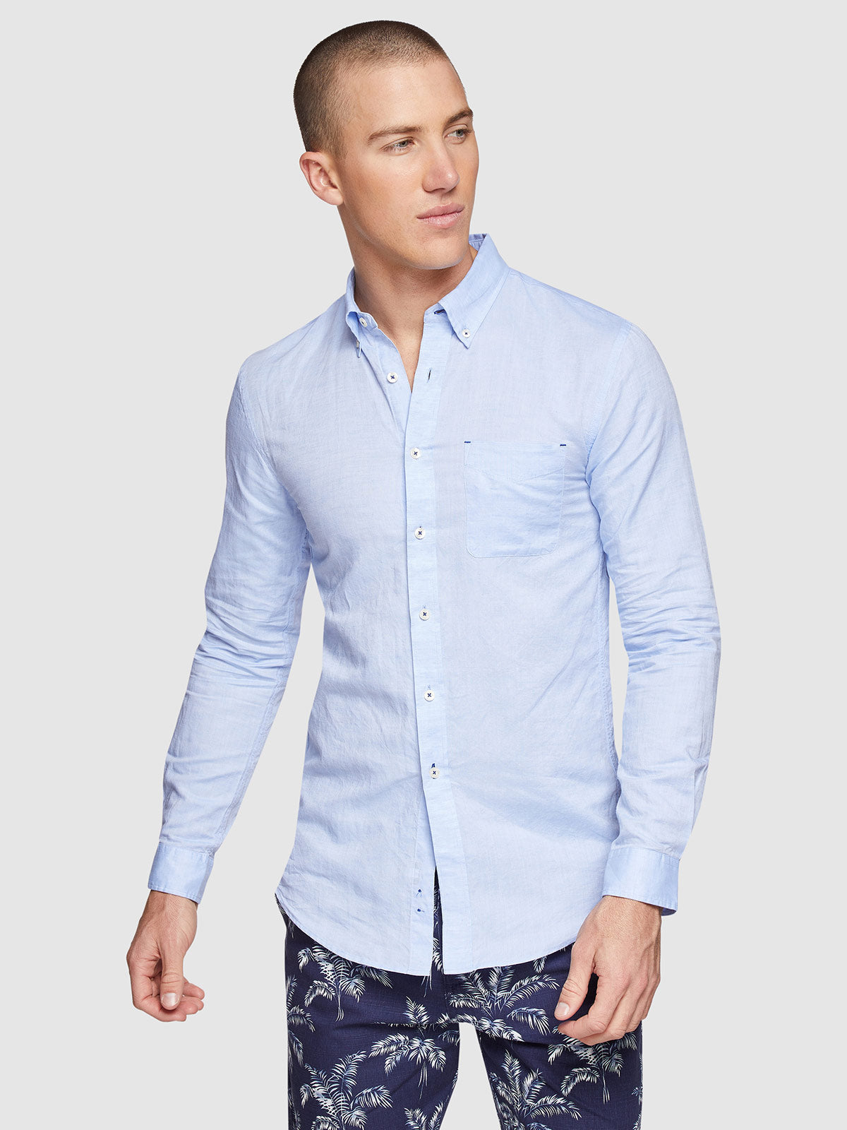 UXBRIDGE LINEN COTTON SHIRT