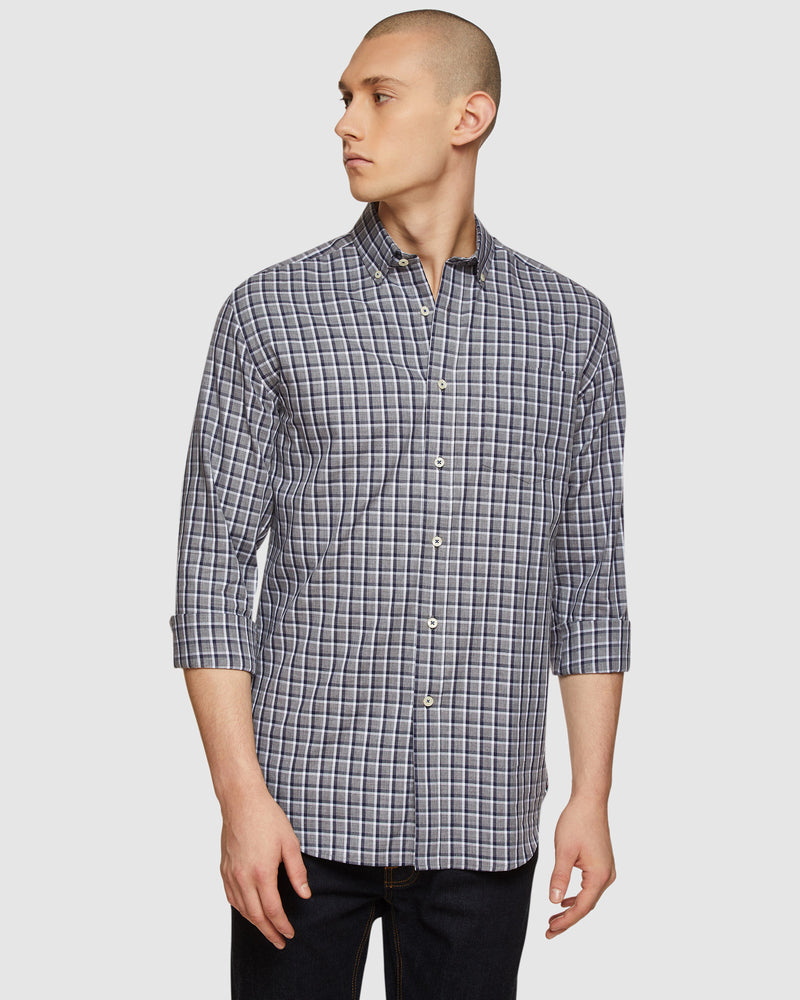 STRATTON CHECKED REGULAR FIT SHIRT
