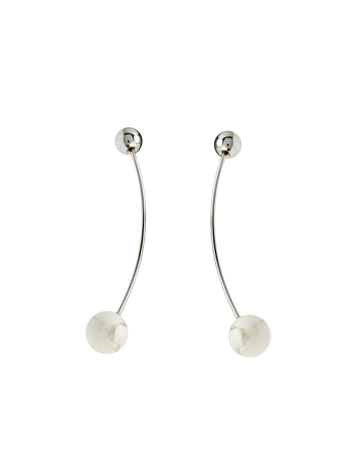 MELLY EARRINGS SILVER