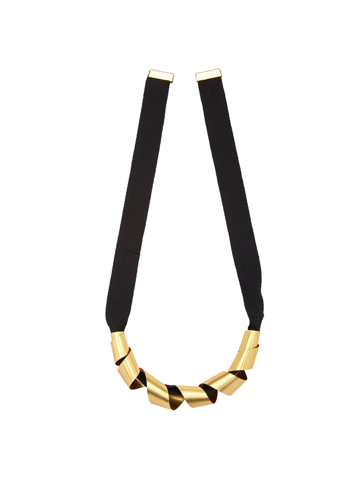 CAMILLE NECKLACE MATTE GOLD