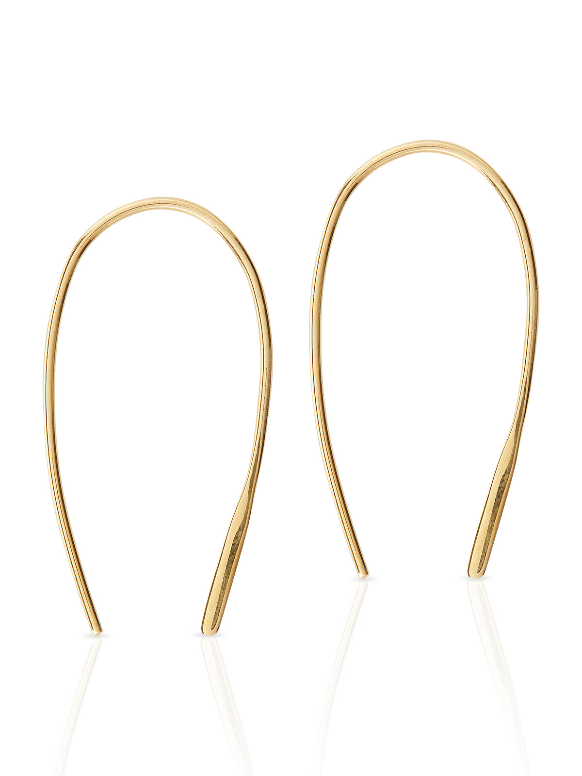 DEBORAH EARRING BRUSHED GOLD