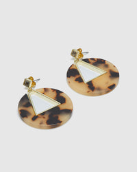 ATHENA TURTOISESHELL EARRINGS