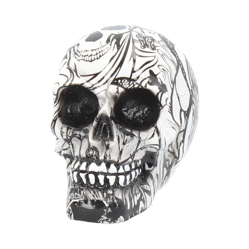 Nemesis Now Abstraction (Small) 8cm (Pack Of 6) Skull Figurine Small
