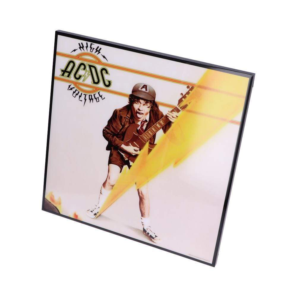 Nemesis Now Acdc High Voltage Crystal Clear Picture 32cm Band Merch Crystal Clear Picture