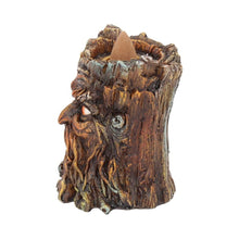 Load image into Gallery viewer, Aged Oak Backflow Incense Burner 8.5cm Tree Incense Burner