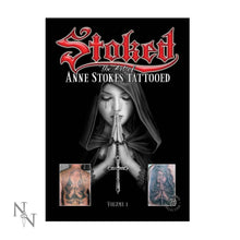 Load image into Gallery viewer, Nemesis Now Anne Stokes Tattoo Book Volume 1 A4 Gothic Book