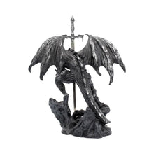 Load image into Gallery viewer, Nemesis Now Black Dragon Sword 22.5cm Dragon Letter Opener