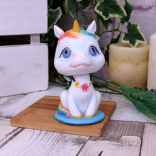 Load image into Gallery viewer, Bobicorn 10.5cm Unicorn Bobblehead