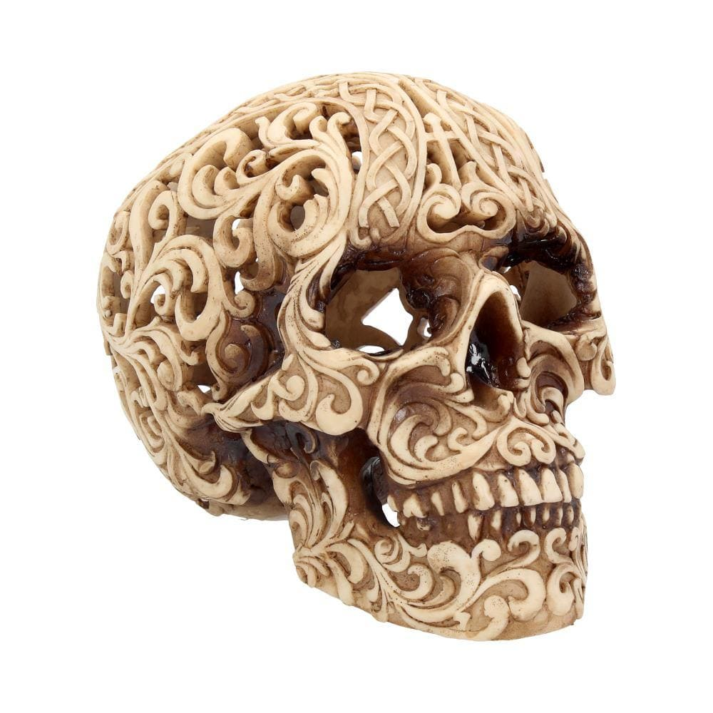 Celtic Decadence 18.5cm Skull Figurine Medium