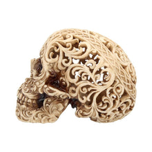 Load image into Gallery viewer, Celtic Decadence 18.5cm Skull Figurine