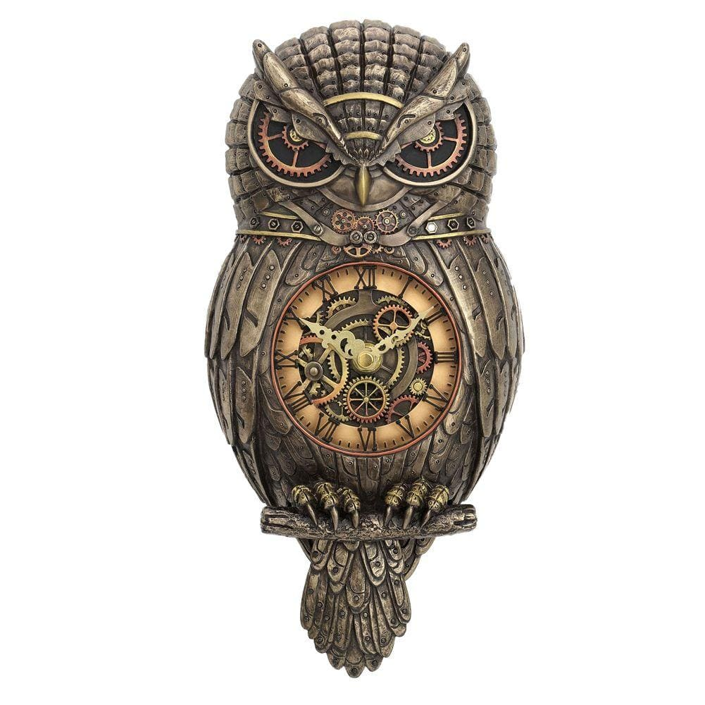 Nemesis Now Chronology Wisdom 31.5cm Owl Clock