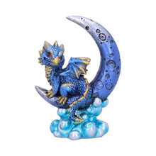 Load image into Gallery viewer, Crescent Creature (Blue) 11.5cm Dragon Figurine Small